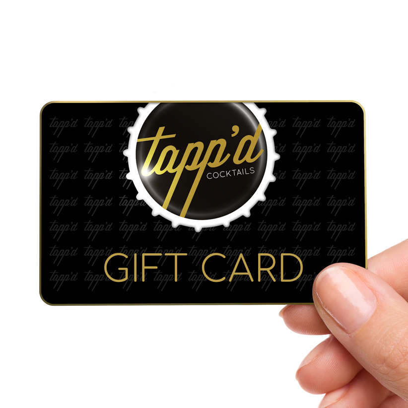 TAPPD GIFT CARD Tappd Cocktails