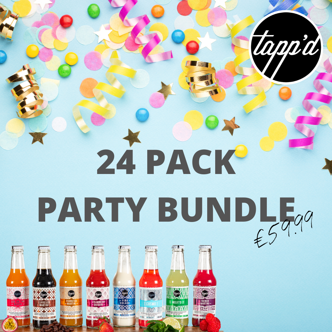 PARTY BUNDLE - MIXED PACK OF 24 COCKTAILS Tappd Cocktails
