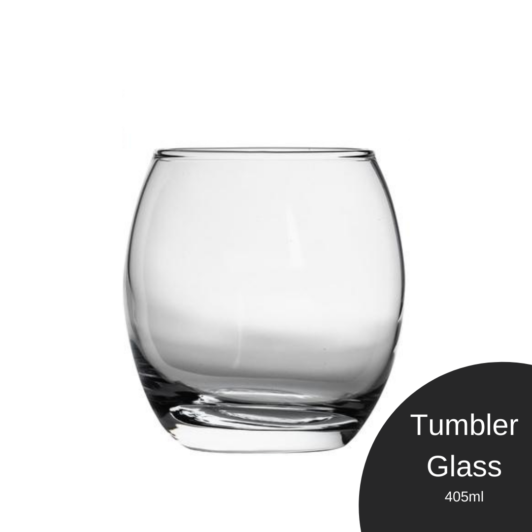 Tumbler Glass Tappd Cocktails