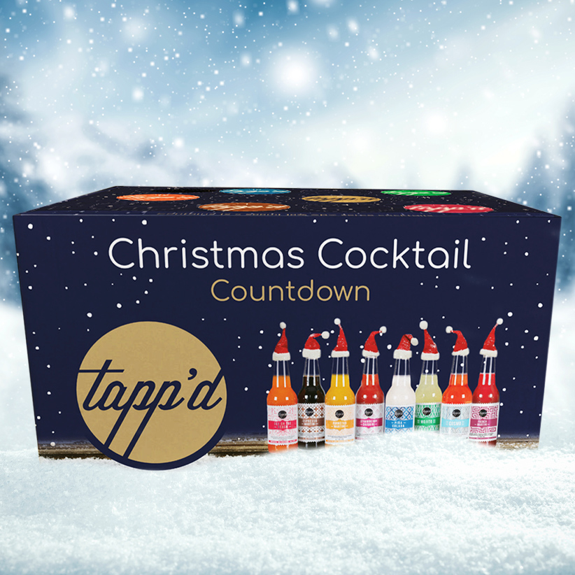 CHRISTMAS COCKTAIL COUNTDOWN BOX Tappd Cocktails